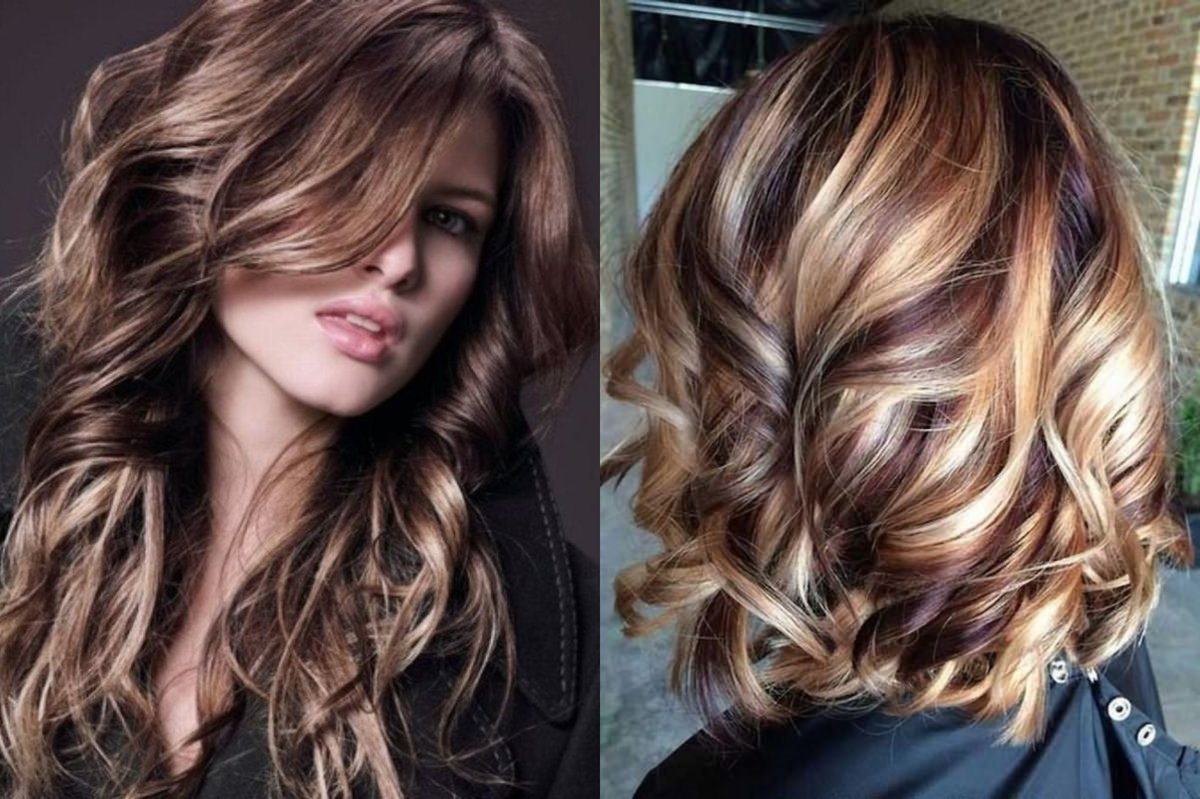 Колорирование темных и светлых волос. 60 фото. | raznoblog - сайт для женщин и мужчин
