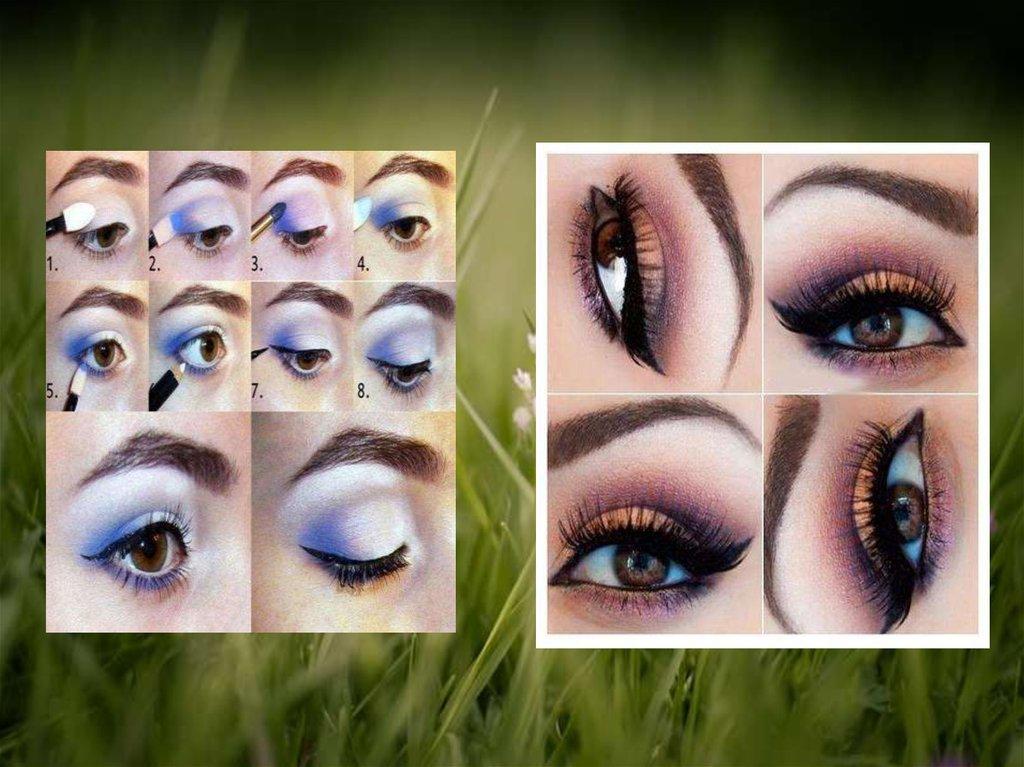 Макияж для карих глаз и темных волос: 22 варианта