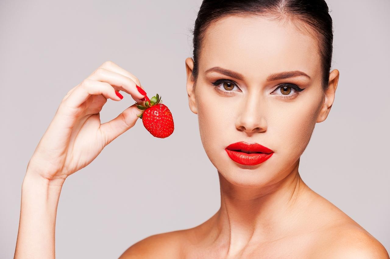 Клубника для лица: использования в домашней косметологии