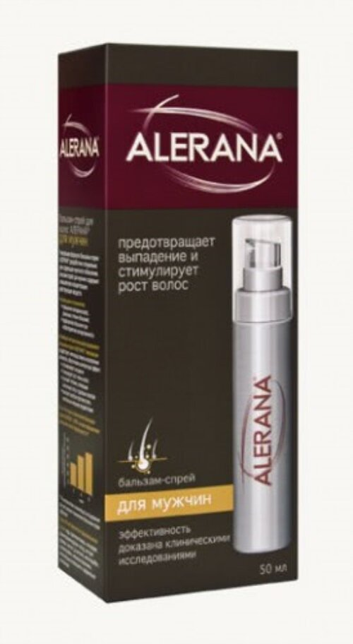 Алерана - спрей от выпадения волос