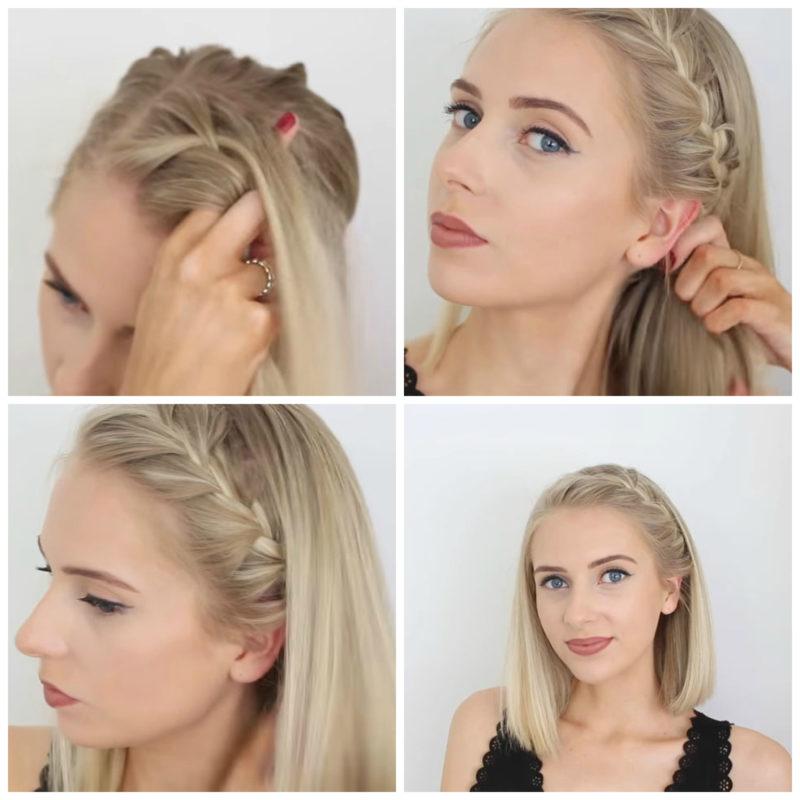 Красивые, легкие и простые прически на средние волосы на каждый день