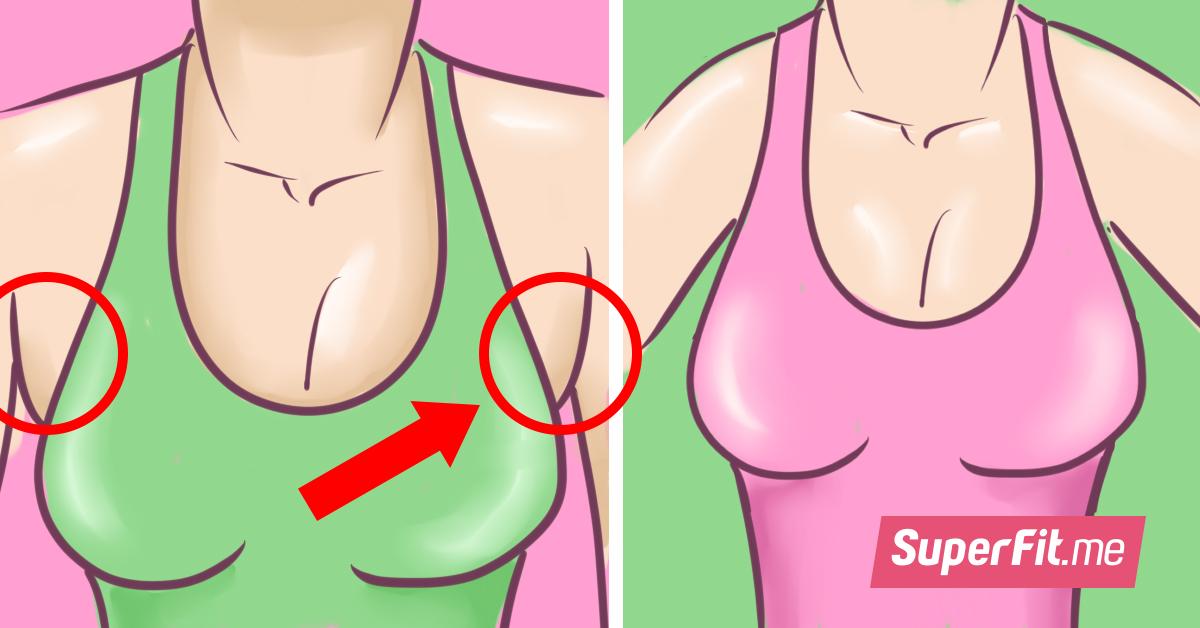 5 эффективных упражнений для подтяжки груди в домашних условиях