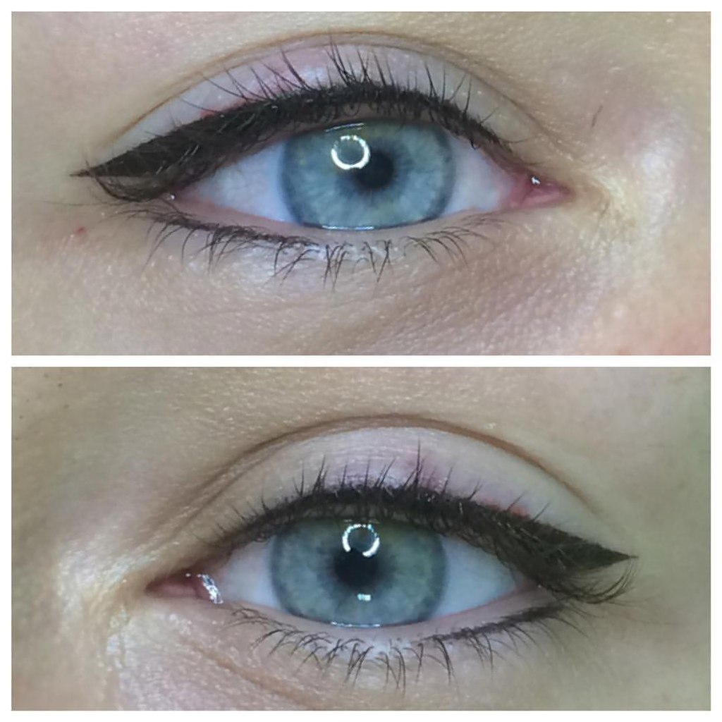Межресничный татуаж век особенности перманентного макияжа глаз