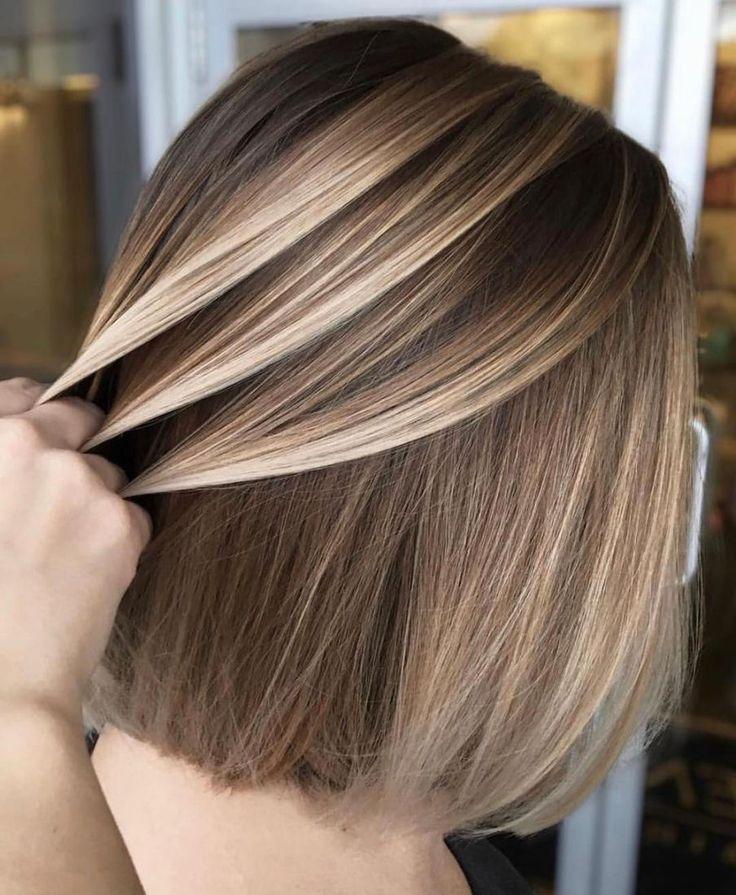 Колорирование темных волос: как быстро и просто освежить прическу, 29 фото