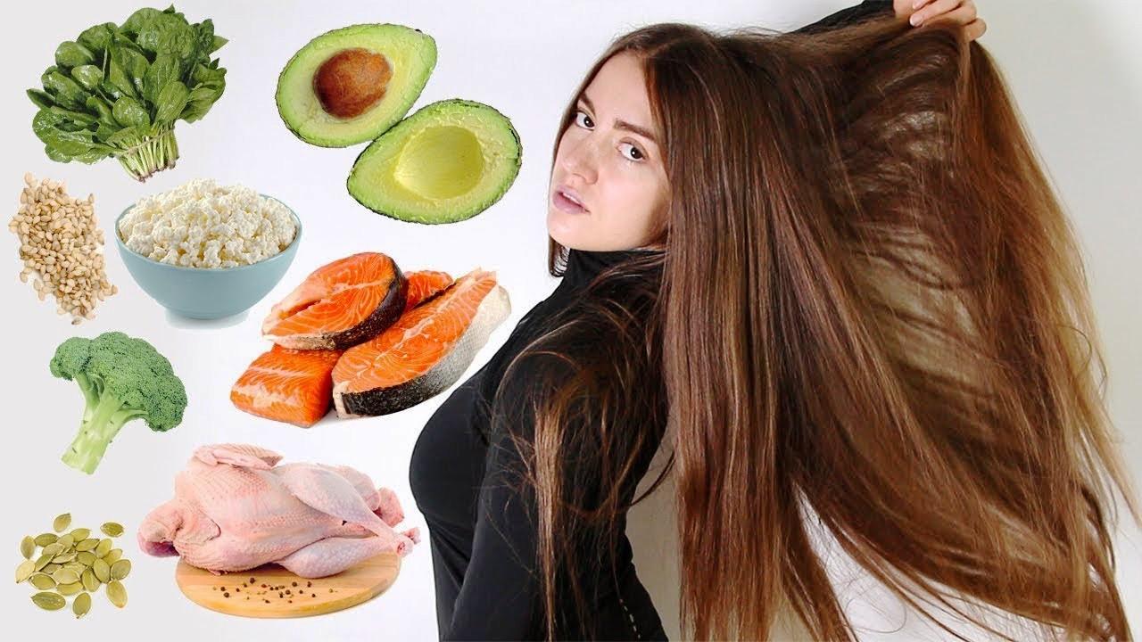 Питание при выпадении волос у женщин: топ-10 полезных продуктов, примерное меню на неделю
