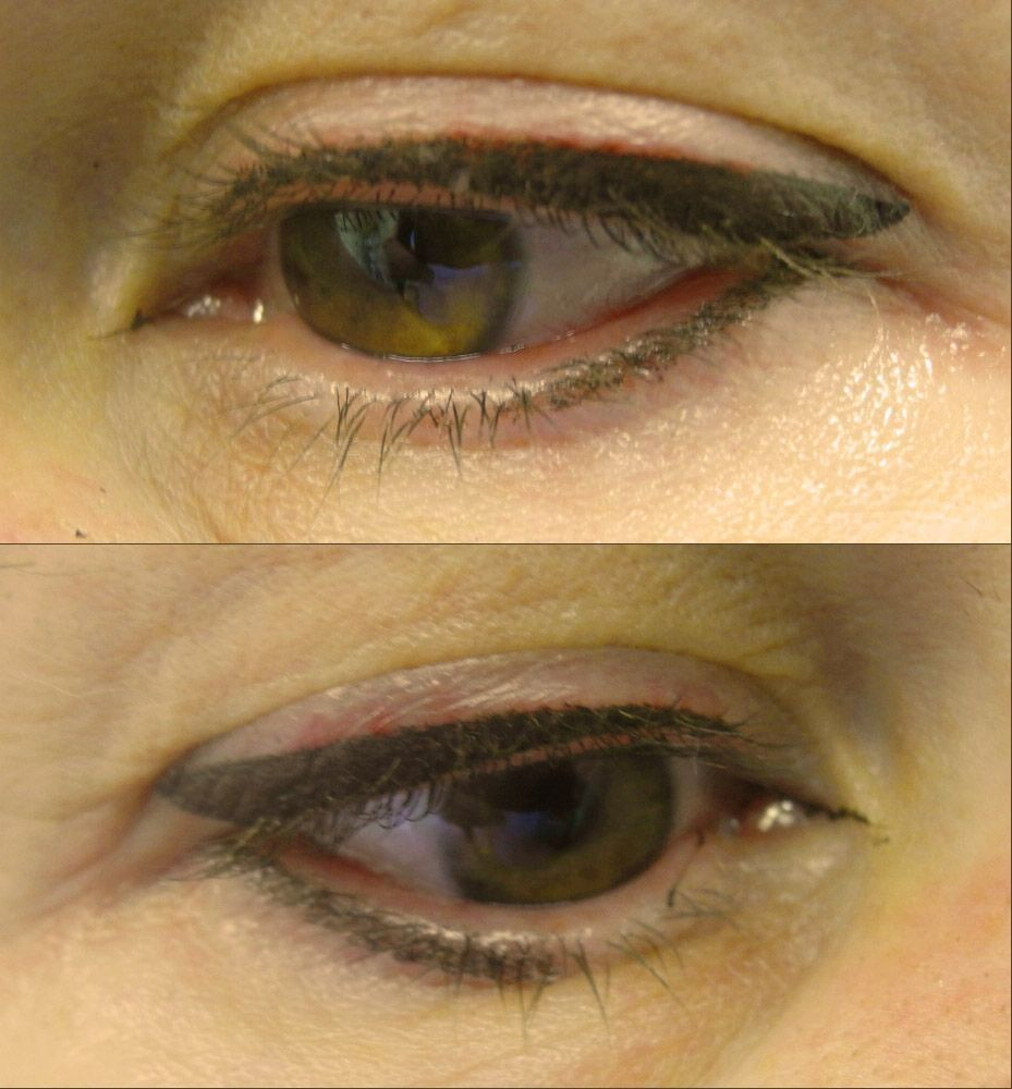 Перманентный макияж нижнего века: особенности процедуры