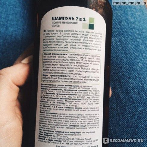 Шампунь от выпадения волос: лучшие, профессиональные и эффективные средства / mama66.ru
