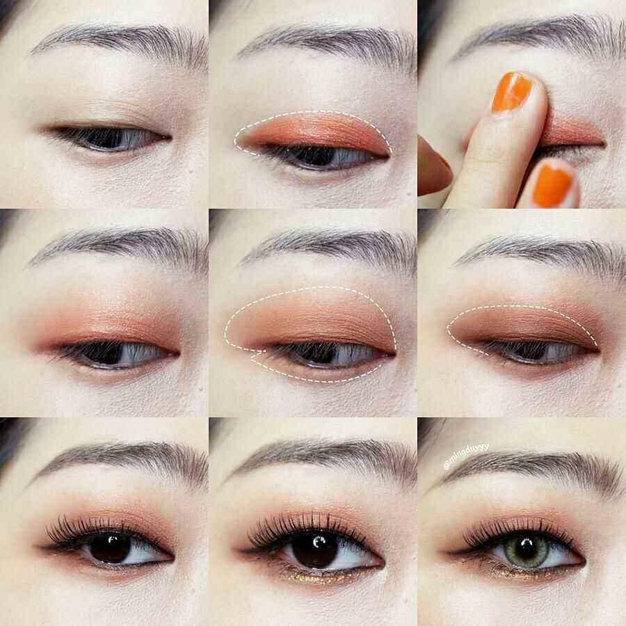 Корейские брови: как сделать, нарисовать брови, как у кореянок