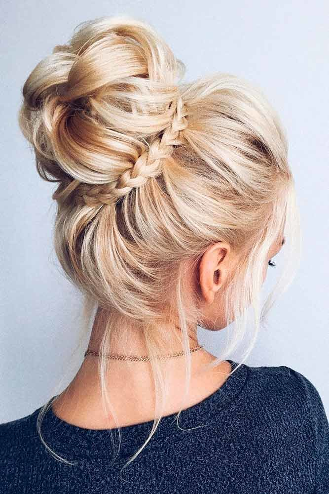 Прически на средние волосы — новинки!