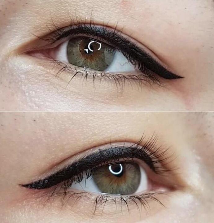 Перманентный макияж глаз (48 фото): заполнение межресничного пространства и век, стрелки и варианты с растушевкой, отзывы
