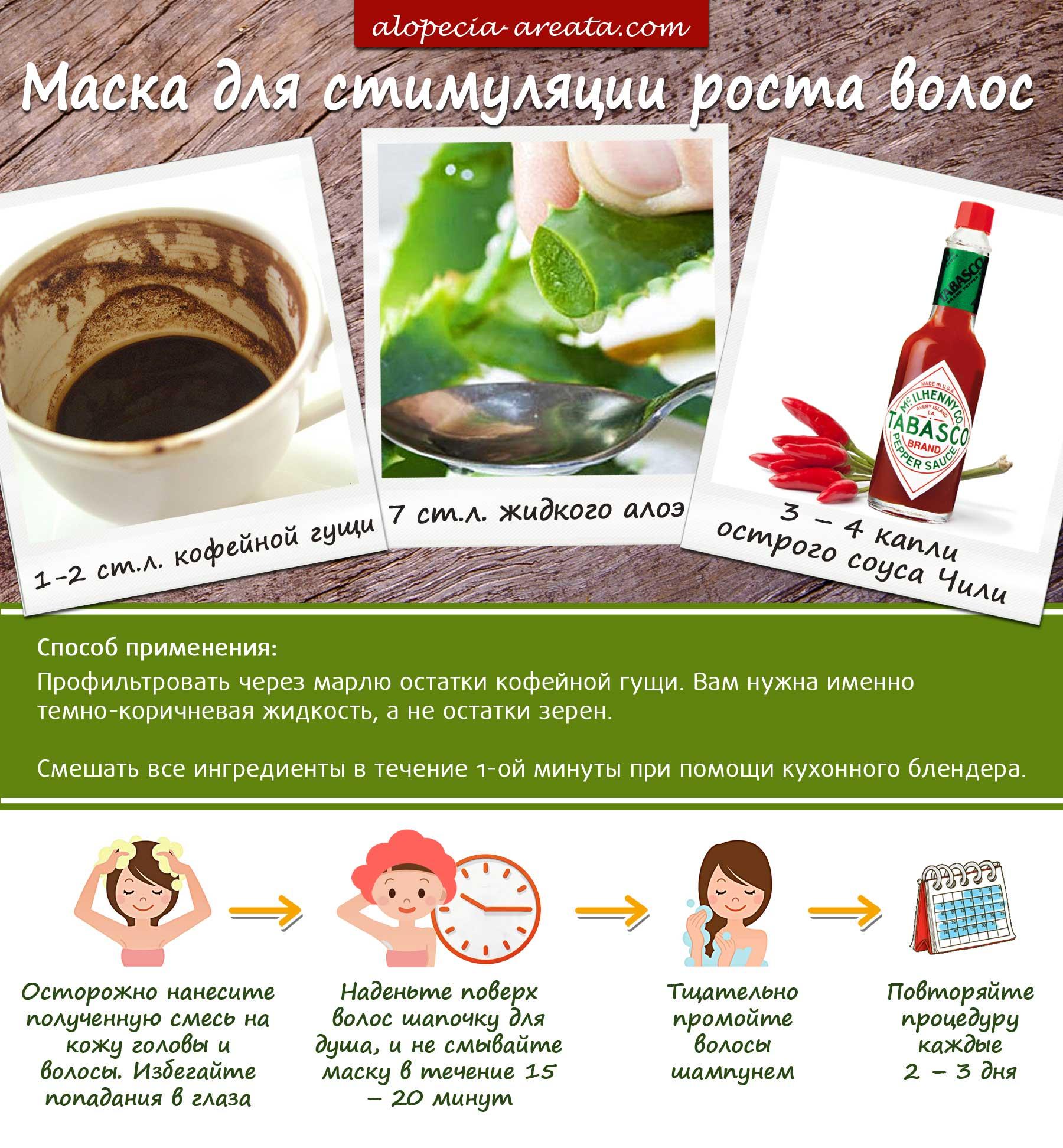 3 самые эффективные маски против выпадения волос