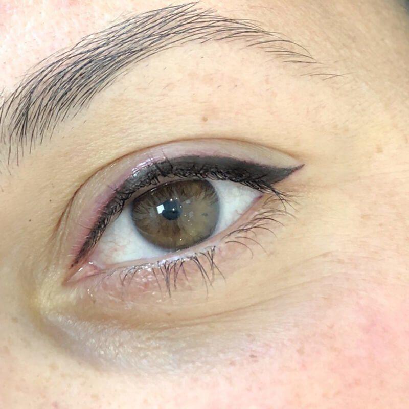 Татуаж стрелки на глазах: фото до и после, виды и стоимость процедуры
