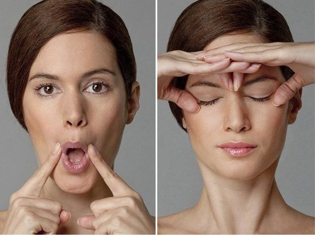 Керол мадджио: гимнастика для лица от морщин (видео)