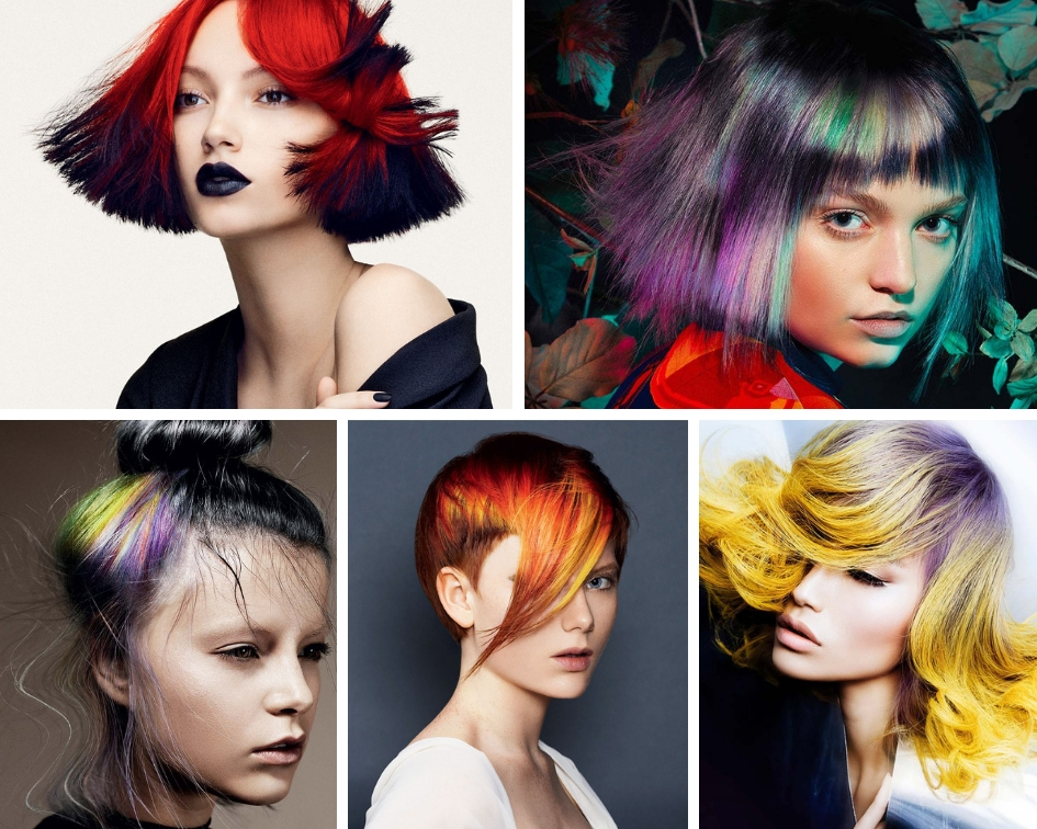 Колорирование на светлые волосы: все секреты процесса, виды и главные нюансы техники выполнения