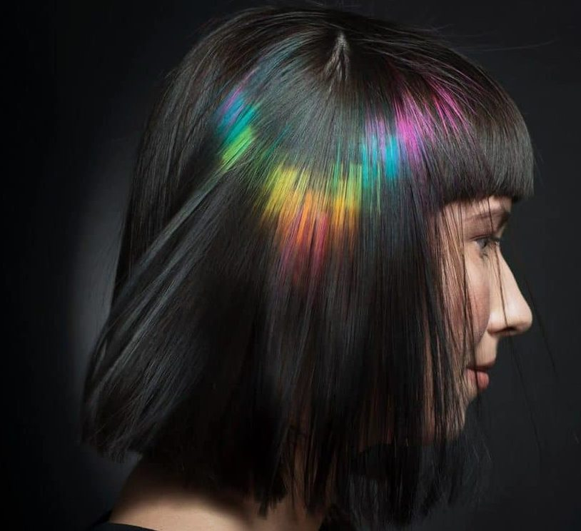 Колорирование на короткие волосы — 22 идеи для яркого образа