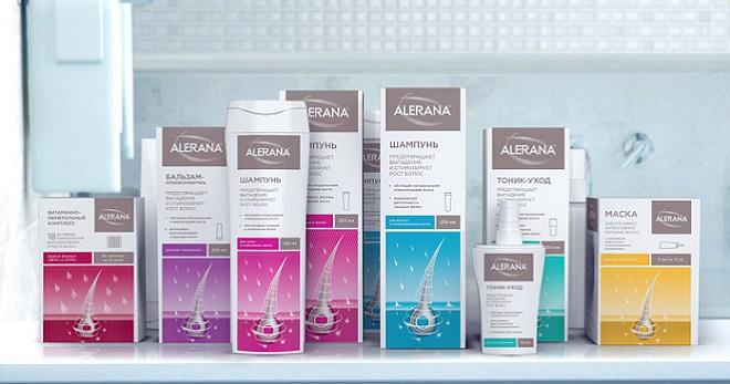 Безсульфатный шампунь алерана против выпадения волос