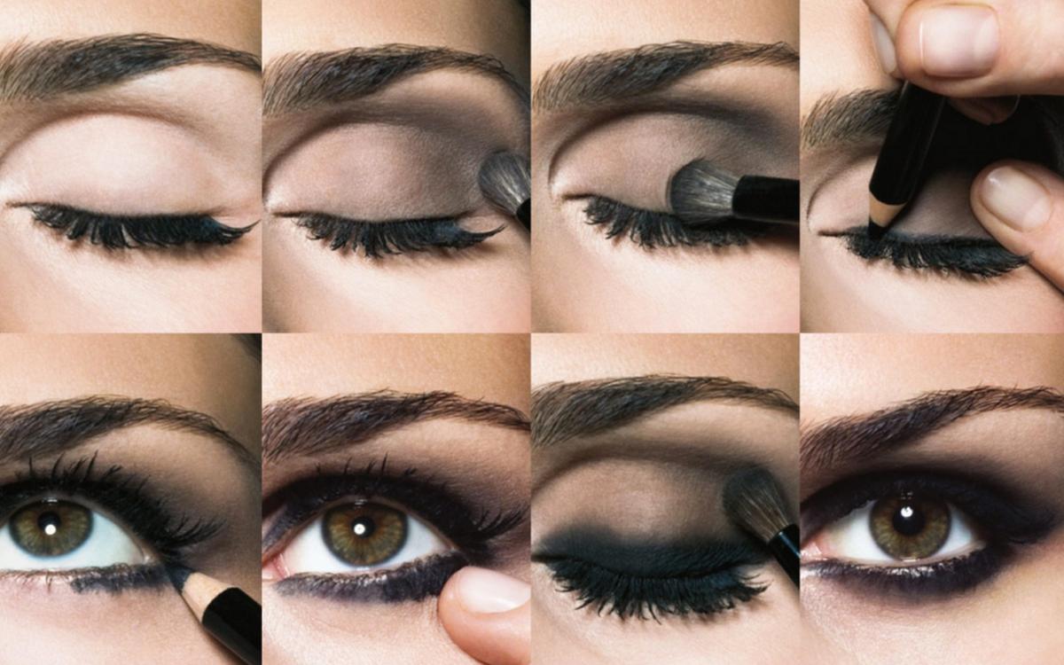 Техника дымчатого макияжа