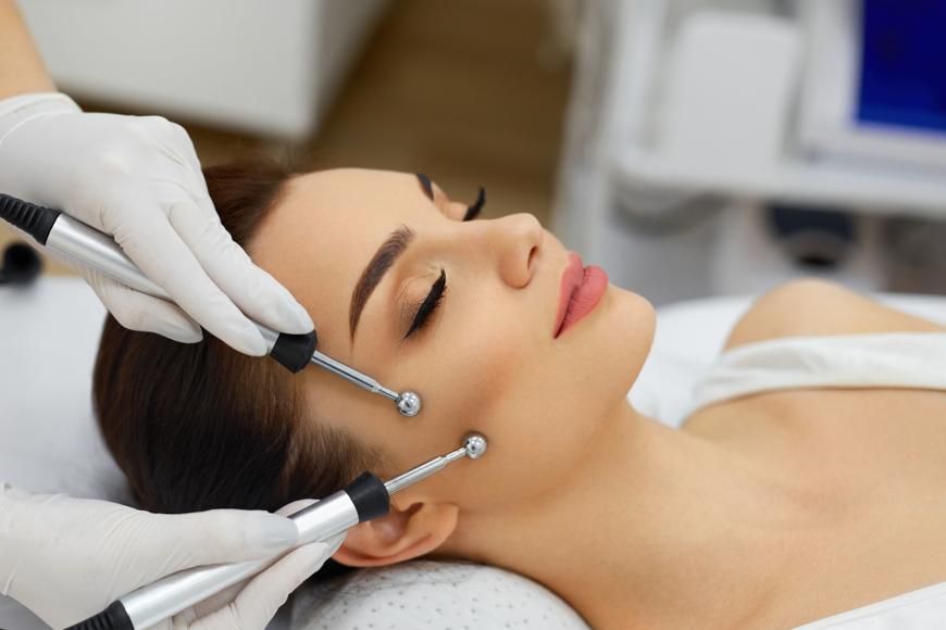 Микротоковая терапия для лица