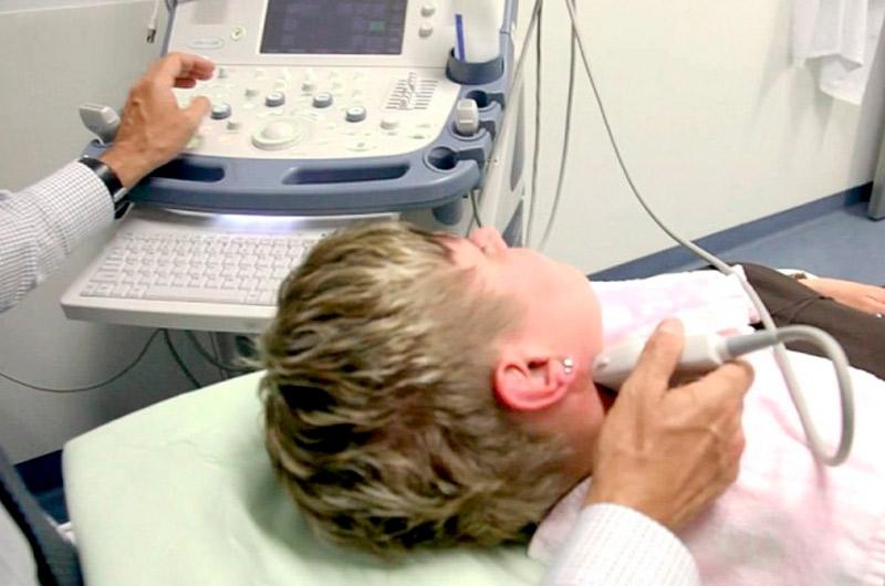 Проведение уздг сосудов шеи и головы