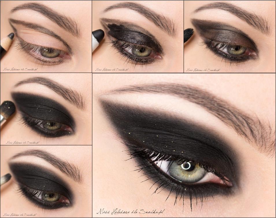 Магия женского взгляда с макияжем «смоки айс»: пошаговое описание