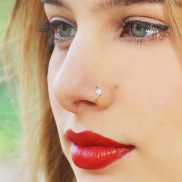 Пирсинг носа: виды проколов и украшений