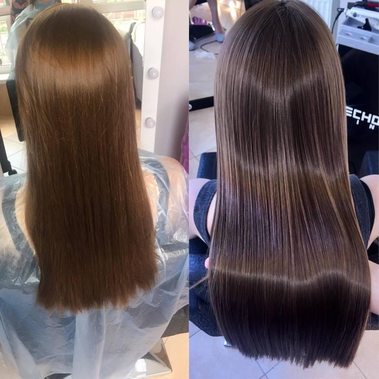 Горячий и холодный ботокс для волос: отличия