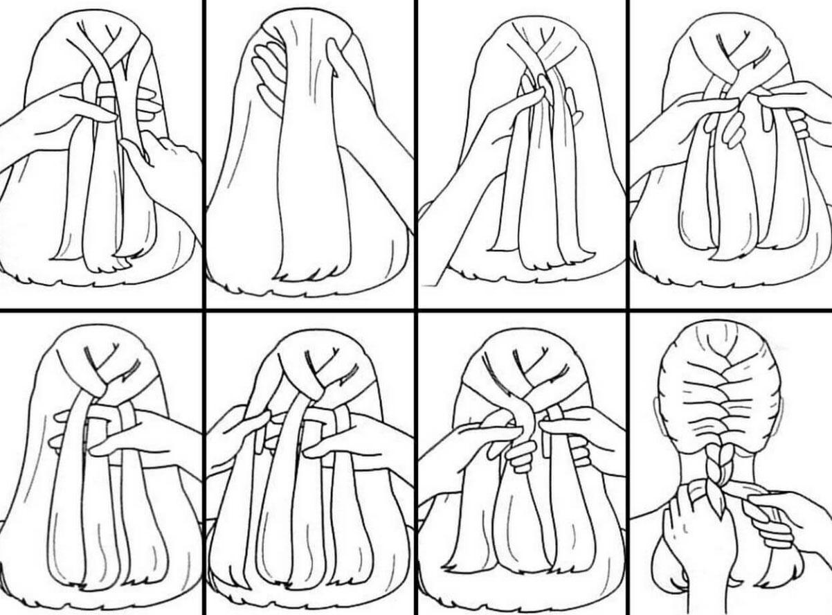 Как плести французскую косу: пошаговая инструкция с фото