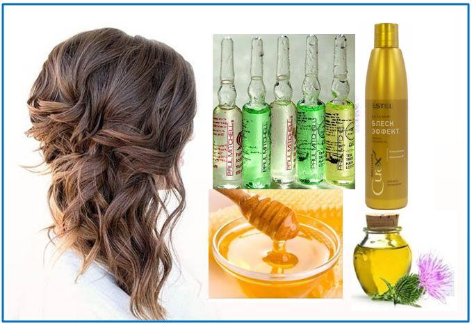 » лучшие укрепляющие маски для волос с витаминами в6 и в12 для роста волос в домашних условиях