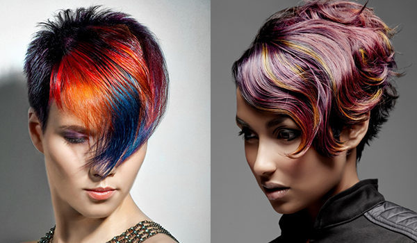 Колорирование на темные волосы какие оттенки выбрать (фото)