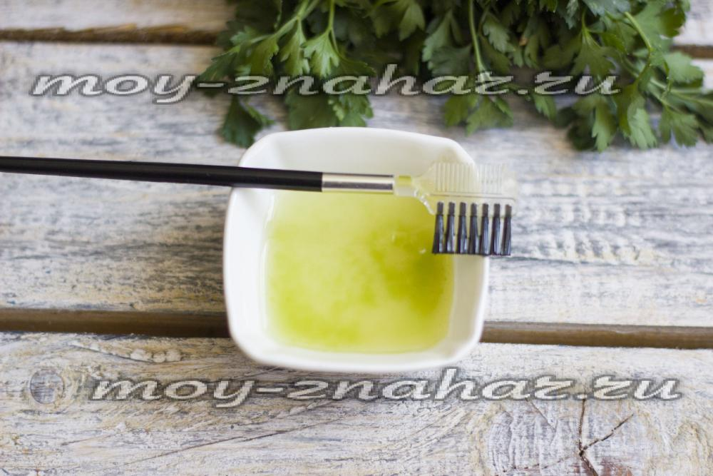 Миндальное масло для ресниц