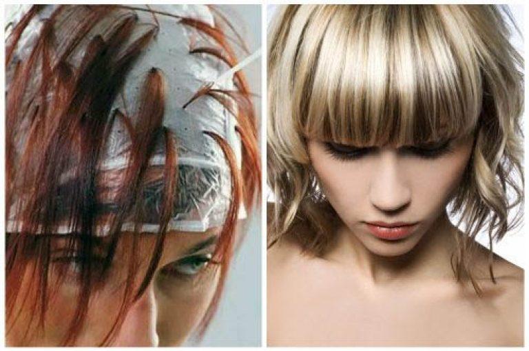 Колорирование темных волос в домашних условиях