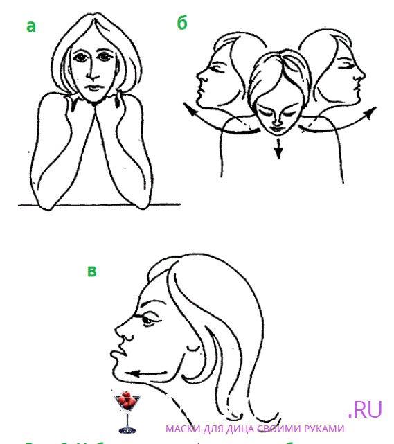 Упражнения от второго подбородка эффективные. как убрать щеки и подбородок в домашних условиях. видео
