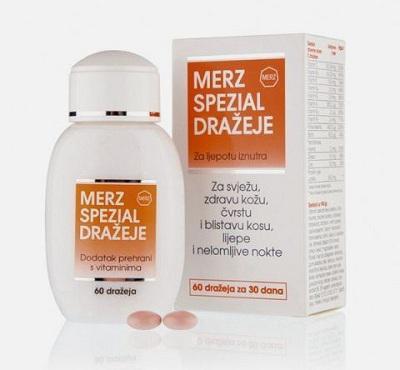 Витамины Мерц: красота и здоровье в одном препарате
