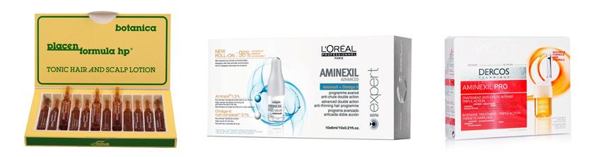 Жидкие витамины для волос в ампулах