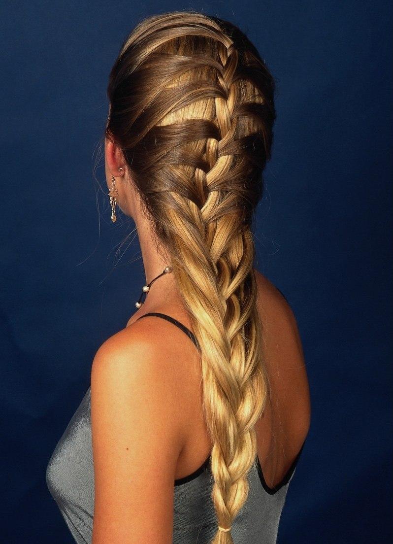 Как заплести французскую косу набок: видеоурок