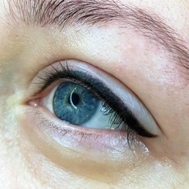 Межресничный татуаж глаз: вся правда о перманентных стрелках на глазах (+видео)
