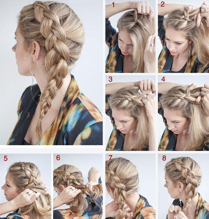 6 вариантов как заплести красивую косу: самой себе,  ребенку девочке с поэтапными фото и видео