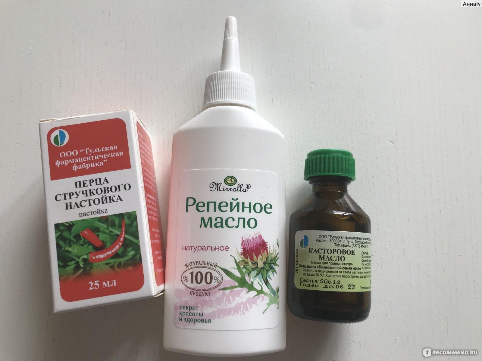 Перцовая настойка для роста волос: рецепт приготовления, применение, отзывы