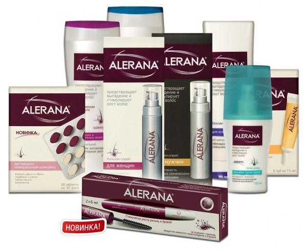 Укрепление и рост волос с помощью шампуня алерана