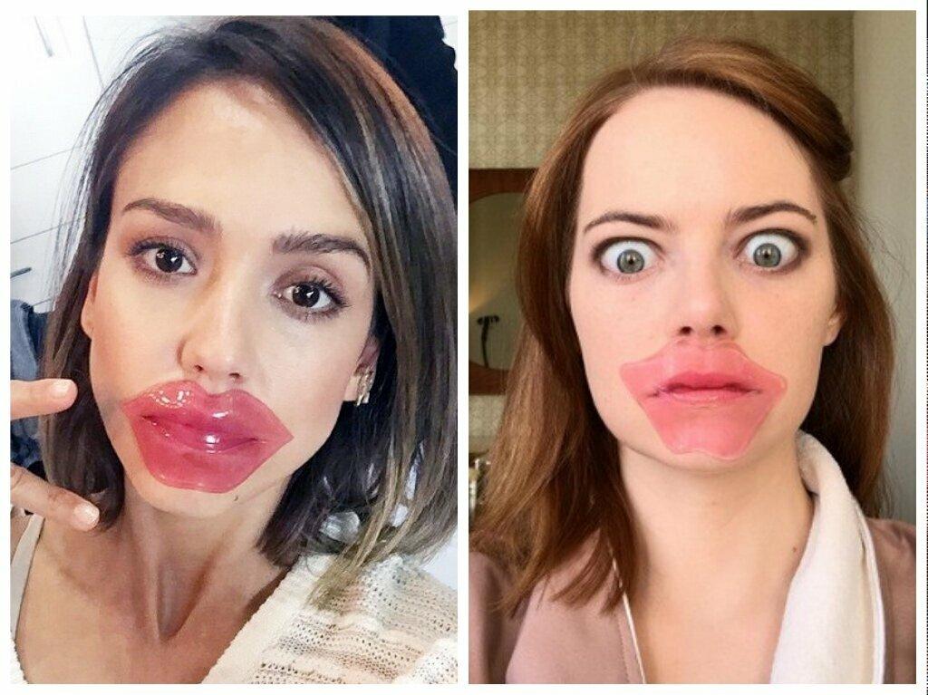 Как увеличить губы с помощью макияжа
