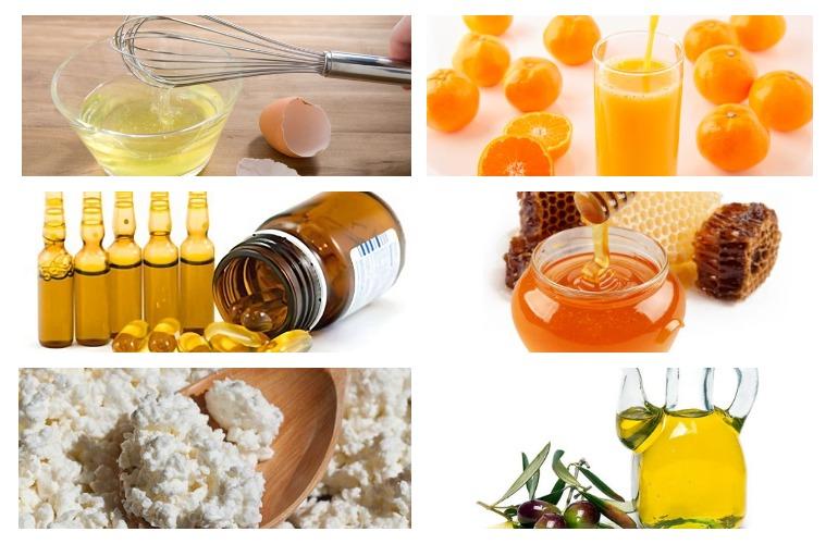 Питание для роста волос - продукты питания и витамины