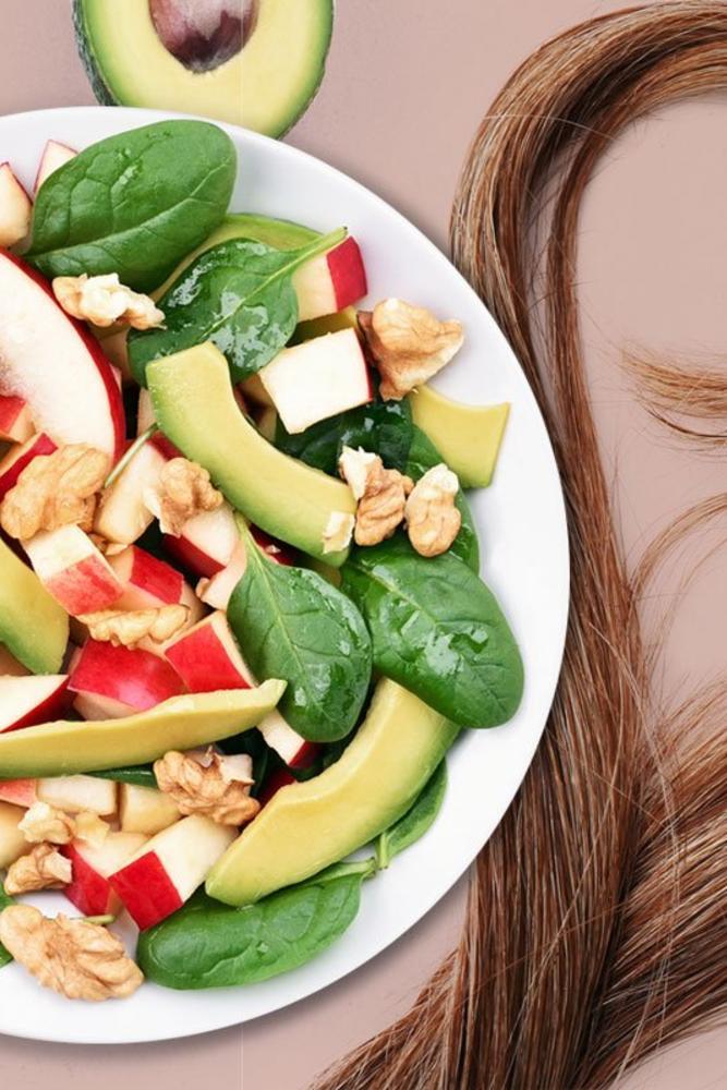 Витаминизированные продукты для красоты и силы волос и ногтей