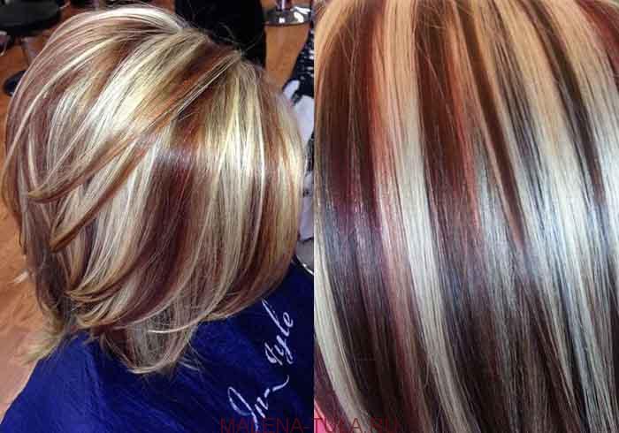 Колорирование волос: техники, тренды, фото