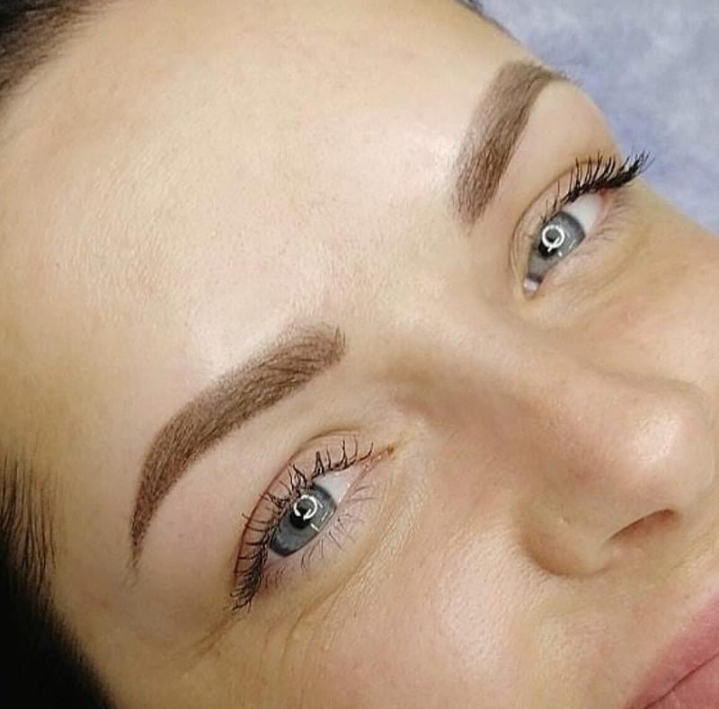 Волосковый перманентный макияж бровей. что это такое, фото, как делается, отзывы