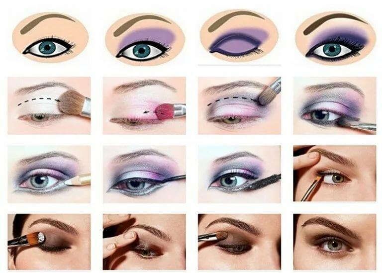 Пошаговая инструкция как сделать макияж — фото для начинающих и профессионалов