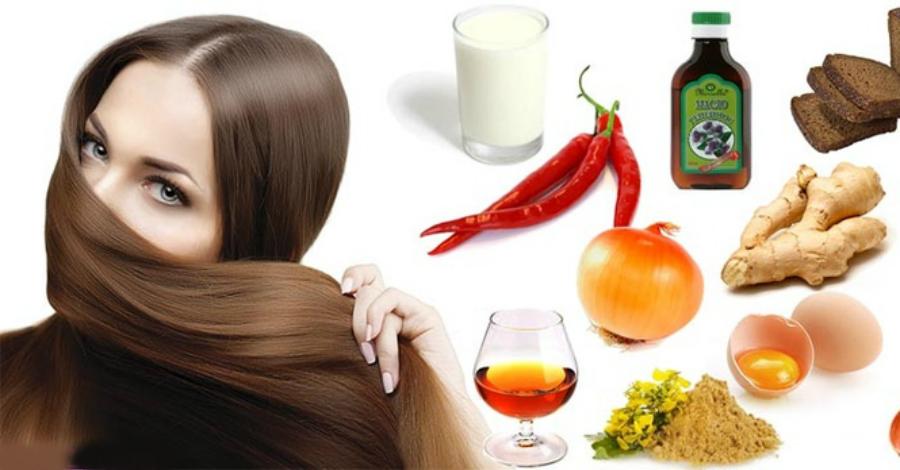 Народные средства для ухода за волосами