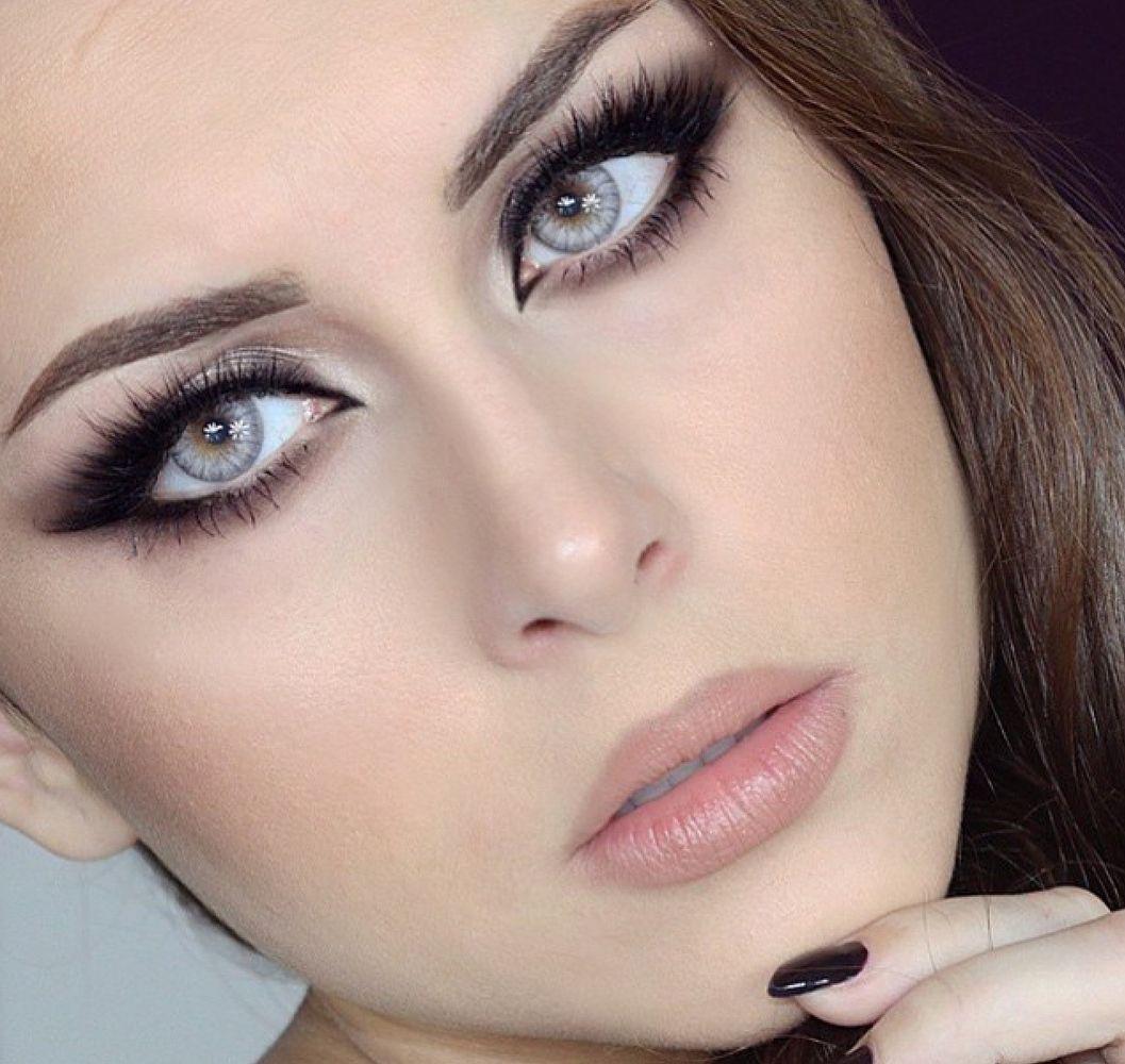 Легкий макияж для карих глаз: правила