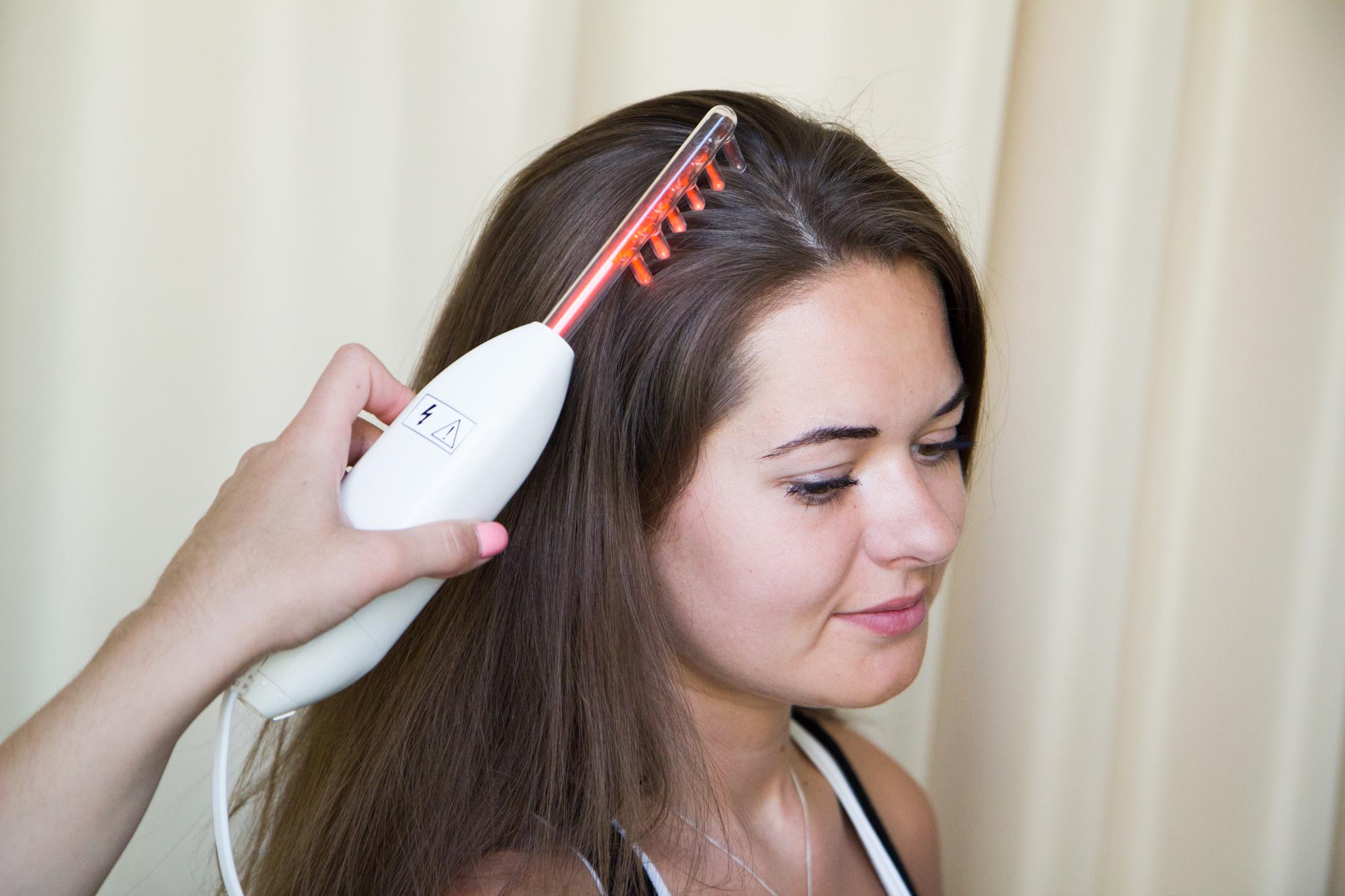 Как использовать дарсонваль от выпадения волос?