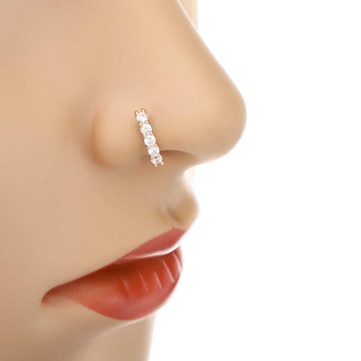Виды пирсинга носа и разновидности отдельных проколов