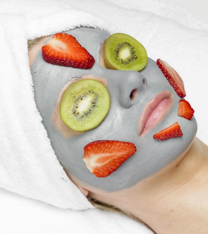 Клубничные омолаживающие маски против морщин